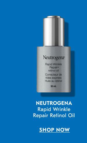 Neutrogena Rapid Wrinkle Repair Retinol Oil SHOP NOW