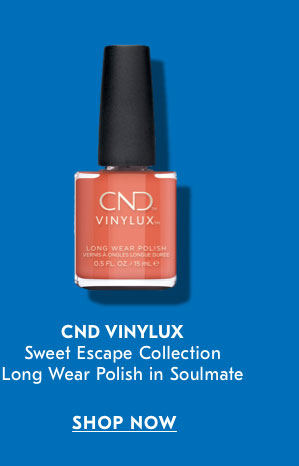 CND Vinylux Sweet Escape Collection Long Wear Polish in Plume SHOP NOW