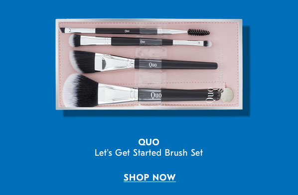 Quo Let's Get Started Brush Set SHOP NOW